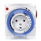 Mechanische Zeitschaltuhr | 24 Stunden Anaolg Timer |...
